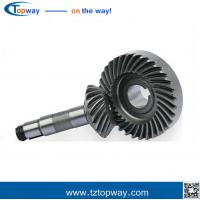 Buy cheap High Quality Material Precision Custom nonstandard carburizing steel spiral bevel gear from wholesalers