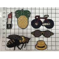 Sew On Animal Handmade Beads Embroidery Mini Patches Bullion Wire Badges Manufactures