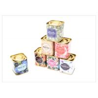 China Food  / Wine Square Tin Containers , Metal Tin Boxes for Packaging on sale