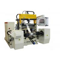 Buy cheap 1000mm Height Reactor Foil Coil Winding Machine With Two Servo Motor Driving from wholesalers