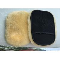 Buy cheap Extra Thick Single Sided Car Polishing Mitt Gentle Surface Without Washing Marks from wholesalers