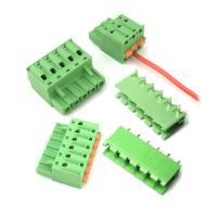 Buy cheap 5.08mm Pitch Plug-in Screwless Terminal Blocks Plug Horizontal Wiring Entry from wholesalers