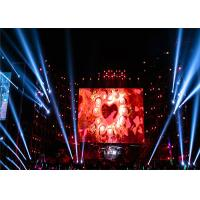 Buy cheap Lightweight Led Stage Curtain Screen / SMD3535 Full Hd Led Panels For Stage from wholesalers