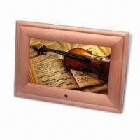 Wholesale 7-inch Digital Photo Frame with Pine Frame, Available in Different Designs from china suppliers