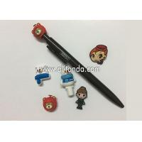 Wholesale New 0.38mm 0.5mm Kawaii Plastic Cute Cartoon Bear Head Gel Ink Pen Cute Creative Stationery For Kids Children Students from china suppliers