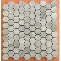 Buy cheap White Serpeggiante Marble Mosaic Tiles product