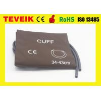 Wholesale PU DC212UA Double Hose Large Adult NIBP Cuff IEC 60601-1-1 Approved from china suppliers