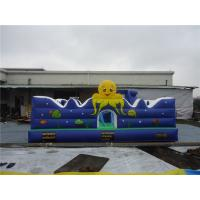Buy cheap Customized 6L Meter Kids Favorite Moonwalk / Inflatable Castle / Mini Inflatable Playground from wholesalers