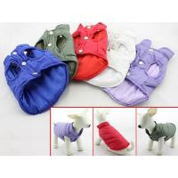 Buy cheap Comfortable PVC Medium Large Big Dog Winter Vests Dog Coats Clothes Lightweight from wholesalers