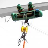 Buy cheap 3m 220V 380V Electric Wire Rope Hoist , 1.5 Ton 2 Ton Wire Rope Hoist from wholesalers
