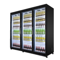 Buy cheap Convenience Store Glass Door 2000L Cabinet Beverage Refrigerator from wholesalers