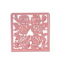Buy cheap Modern Metal Napkin Holder Tissue Box Covers Flower Pattern For Home Decor from wholesalers