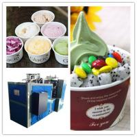 Buy cheap paper cup forming machine, automatic high speed paper ice cream tea coffee cup forming machine 50ml to 850ml from wholesalers