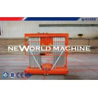 Wholesale 6m Double Mast Hydraulic Aerial Work Platform Aluminum Alloy from china suppliers