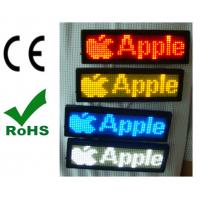Buy cheap Global language support  NO need USB driverPortable LED scrolling message tags from wholesalers