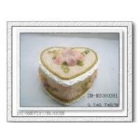 Buy cheap Polyresin love case,polyresin jewellery box,resin casket box from wholesalers
