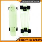 Buy cheap Custom Glows in the Dark Skateboard Kick Board Surf Skateboard Complete with LED Wheels from wholesalers