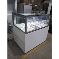 Buy cheap 4ft 3 Layer Glass Table Top Ice Cream Display Freezer from wholesalers