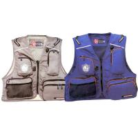 Buy cheap Blue / Red Marine Life Jackets Fly Fishing Life Vest For Lure Fishing from wholesalers