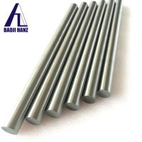 Buy cheap 99.95% pure Tungsten rod customized size with ISO 9001 certificate from wholesalers