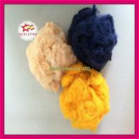 Buy cheap 100% polyester material virgin polyester staple fiber from wholesalers