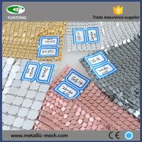 Buy cheap Fashionable and beauty decorative metal mesh from wholesalers