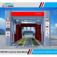 Buy cheap Stainless Automatic tunnel car wash machine/Automated tunnel car wash equipment with dual belts conveyor from wholesalers