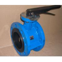 Buy cheap Hand Operated Ductile Iron Flanged Butterfly Valves For Potable Water from wholesalers