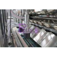 Belt Capping Type Wine Bottle Filler With Cap Lifter Level Filling Controlled