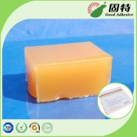 Buy cheap Yellow and semi-transparent Block PSA Hot Melt Glue Adhesive For Packaging Mail Bag Sealing,Express Envelope bag sealing from wholesalers