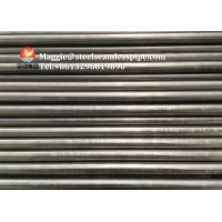 Buy cheap Nickel Alloy Pipe Exchanger Tubes ASME SB163/ SB167 UNS NO6600 NO6601 from wholesalers