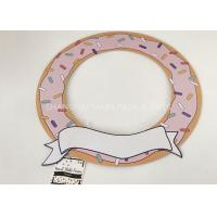 Buy cheap Kids 18th Birthday Festival Party Decorations Donut Paper Chipboard 15x15'' from wholesalers