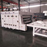 Buy cheap Semi - Automatic Carton Box Flexo Printing Machine / Flexo Printer Slotter Machine from wholesalers