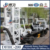 Buy cheap Factory Price 200m Depth Hydraulic Drilling Machines on Truck DFHC-200 from wholesalers