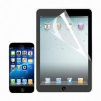 Buy cheap Anti-fingerprint/-glare Screen Protector for iPad Mini, Made of PET Material from wholesalers