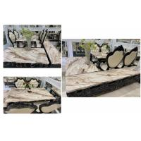 Buy cheap Faux Marble Surface Solid Oak Tv Stand , High Hardness Natural Wood Tv Cabinet from wholesalers