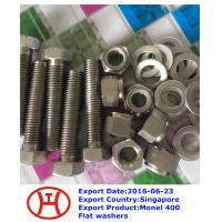 Buy cheap Monel 400 Flat washers from wholesalers