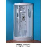 Buy cheap 1/4 Quad Shower Cubicle with Clear Tempered Glass (900*900*2200mm) (8614) from wholesalers