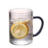 Buy cheap 400ml Reusable Glass Coffee Cup With Lid Lead Free Material Custom Size from wholesalers