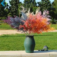 Wholesale 98cm Height Artificial Flower Bouquet , Fake Grass Branch 5-10 Years Life Time from china suppliers