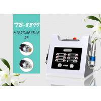 Buy cheap Portable Wrinkle Removal Fractional RF Microneedle Machine For Scar Removal Skin Lifting from wholesalers