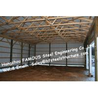 Buy cheap Chicken Poultry Shed Steel Construction and Animal Farm Building Steel Cow Shade from wholesalers