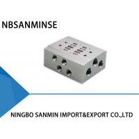 Buy cheap Pneumatic Solenoid Valve Parts Manifold Base SMC AirTAC CKD Koganei Type from wholesalers