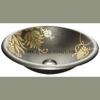 Buy cheap Copper sink  Bathroom sink from wholesalers