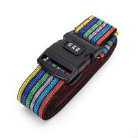 Buy cheap Cross Travel Suitcase Strap Safe Belt Strap Luggage Strap Luggage belt from wholesalers