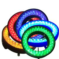 Buy cheap led ring light for microscope illumination colorful red blue green yellow colors from wholesalers