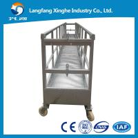 Buy cheap ZLP630 aluminium alloy/hot galvanized power swing stage platform/stage lift cradle/hanging machinery from wholesalers