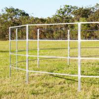 Buy cheap 2019 Hot Dipped Galvanized Livestock Horse round Yard Panels for sale from wholesalers