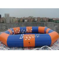 Buy cheap Kiddie Durable Mini inflatable Swimming Pool , ASTM F963 Brazil Inflatable Pools from wholesalers