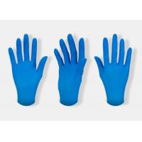 Buy cheap Medical Grade Nitrile Hand Gloves Non Latex Disposable Nitrile Gloves from wholesalers